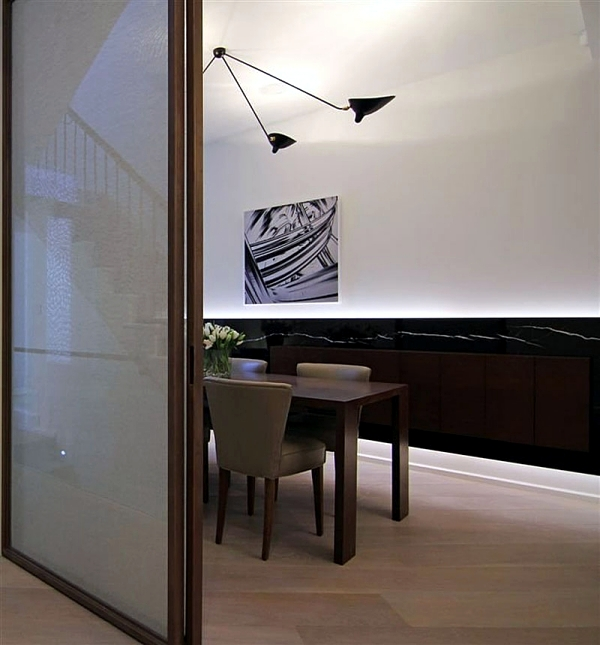 Modern House Renovation in London - ground glass for bright basement