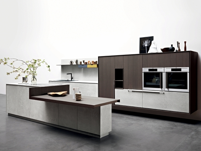 Modern kitchen by Cesar combines perfection and innovative thinking