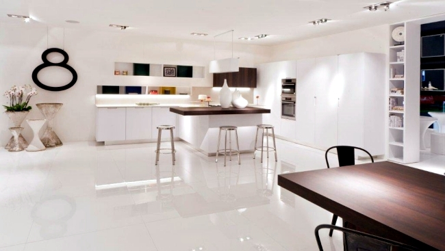 Modern kitchen by Miton steel is stylish with design