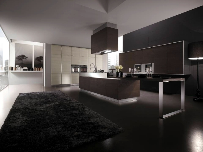 Modern kitchen by Miton steel is stylish with design