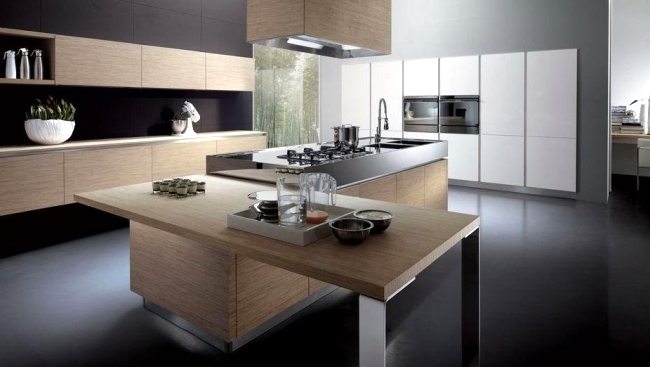 Modern kitchen by Miton steel is stylish with design | Interior ...