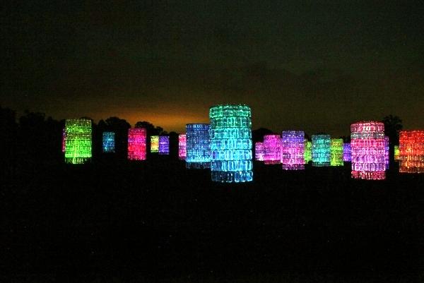 Modern Light Installation By Bruce Munro The Light As An