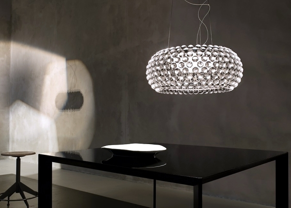 Modern lighting design of Foscarini brings light in the garden