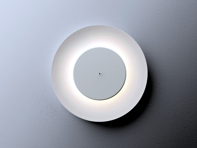 Modern lighting - wall lamp makes the moonlight after
