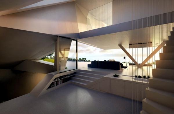 Modern Luxury Villa In Rhodes Minimalism With A Sea View