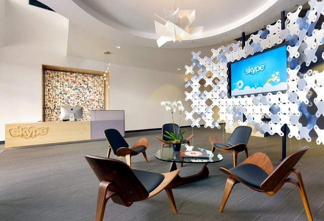 modern office design. Office In Palo Alto, California, The Heart Of Silicon Valley, Skype, Has Been Renovated By Architecture And Interior Design Studio Flash To Give More Modern R