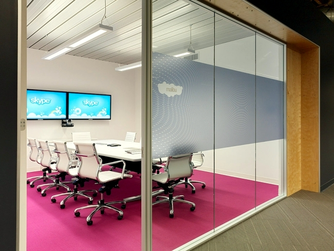 modern office design of the skype headquarters in palo california nice e