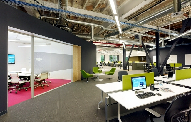 Modern Office Design Of The Skype Headquarters In Palo Alto .