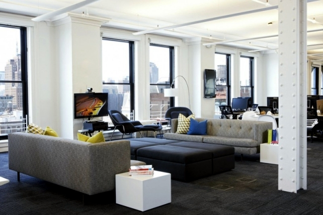 Modern Offices Of Foursquare Show Style And Creative