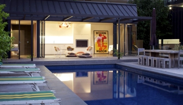 Modern Pool House Design In Australia With Natural Shading Interior Design Ideas Ofdesign