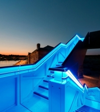 modern-staircase-design-with-led-lights-on-the-shore-in-plymouth-0-566627542