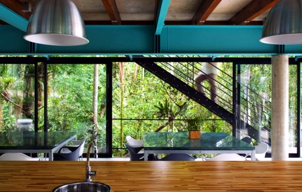 Modern Summer House In The Brazilian Forest Interior