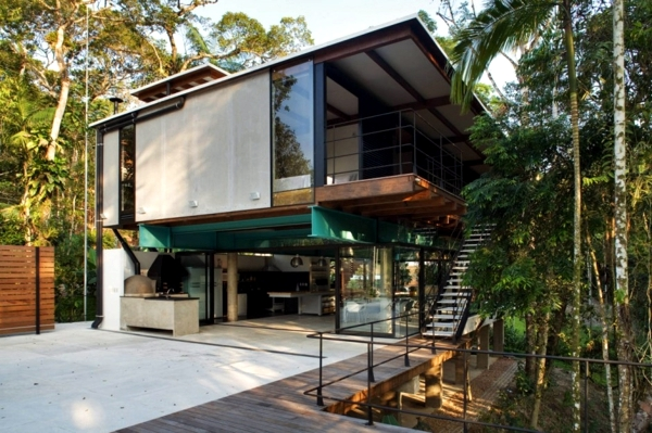 Modern Summer House In The Brazilian Forest