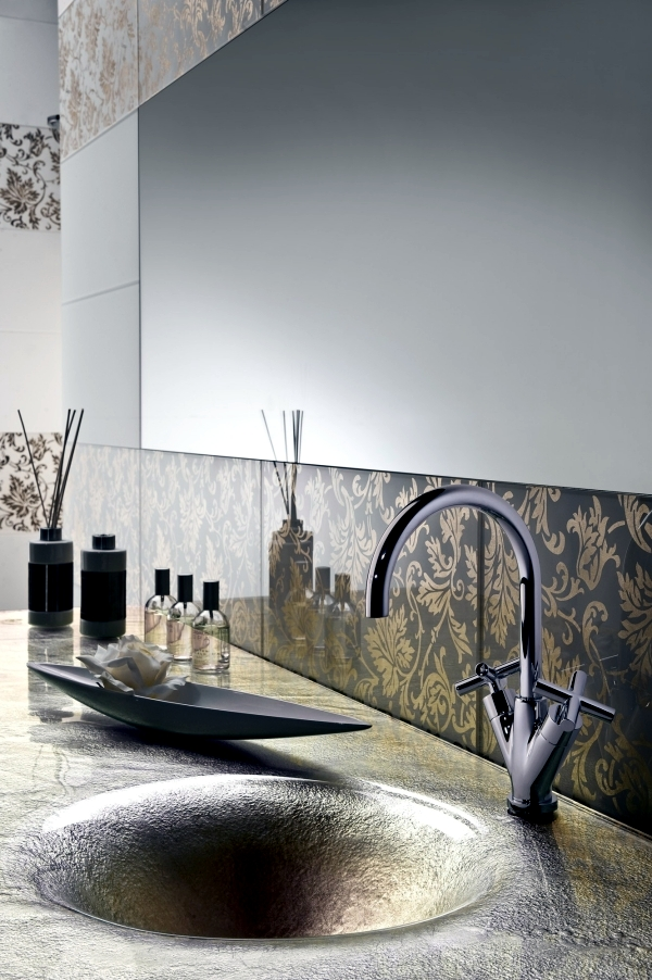 Modern Tile laying-101 great ideas for customizing