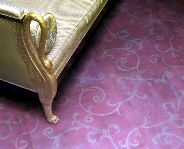 Modern tiles with floral patterns - Italian design and style