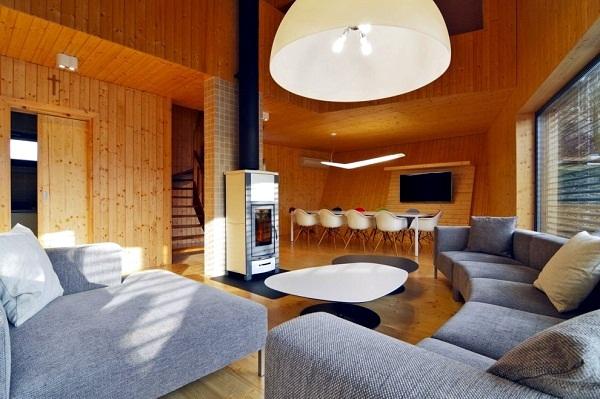 Modern weekend home in Slovakia