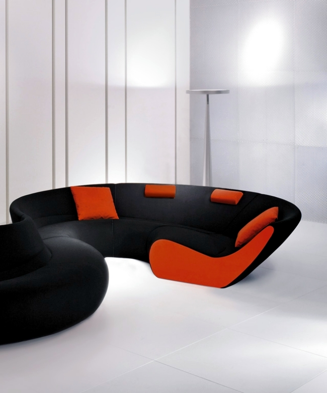 Modular Sofa Design by Walter Knoll Circle - the modern classic