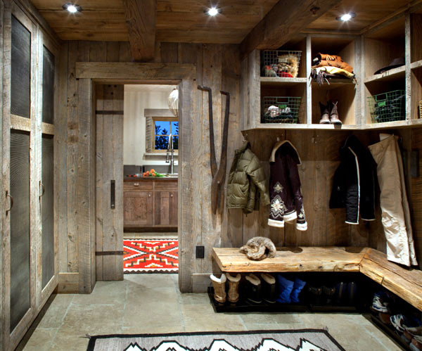 interior mountain cottage