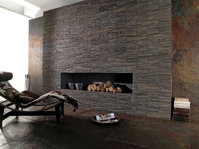Natural Stone In Interior Design Bricks Slabs Or Tiles