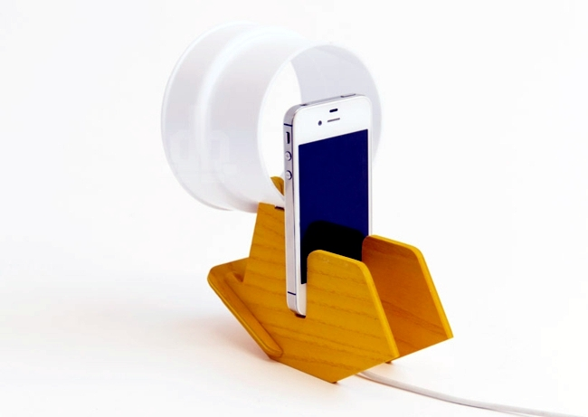 Night lamp smartphone? Mobile phone charger with a new function