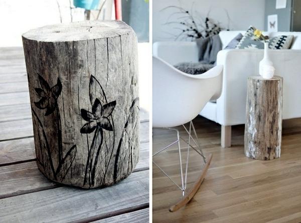 decoration  furniture  tree trunk