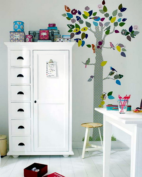 Children s room decoration. Of decoration for the nursery itself   20 creative ideas