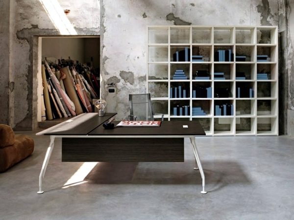 Original office desk designs enhance the performance