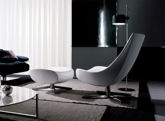 Oyster - Lounge chairs in a contemporary style by Italy Dream Design