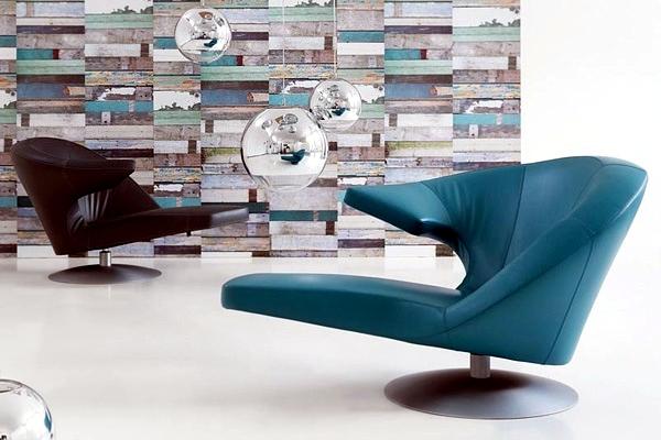 Parabolic innovative design armchair by Stefan Heiliger ...