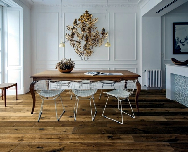 Parquet Flooring Brings Modern Living Style And Warmth