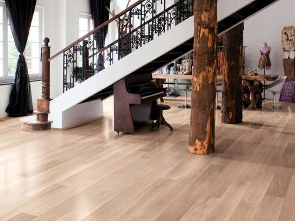 Parquet flooring brings modern living style and warmth into your