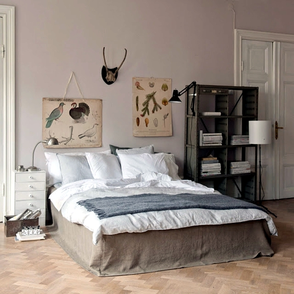 Pastel bedroom colors - 20 ideas for color schemes