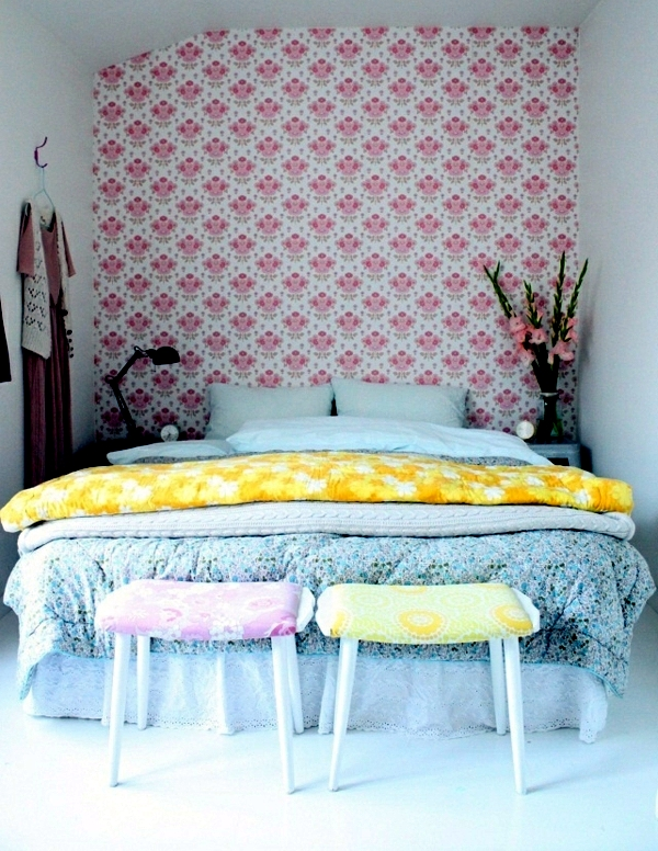 Pastel bedroom colors 20 ideas for color schemes for Bedroom ideas pastel