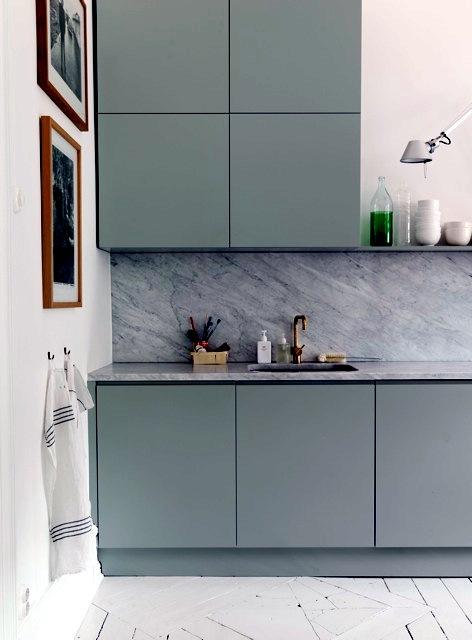 Pastel kitchen bright apartment  Interior Design Ideas  Ofdesign