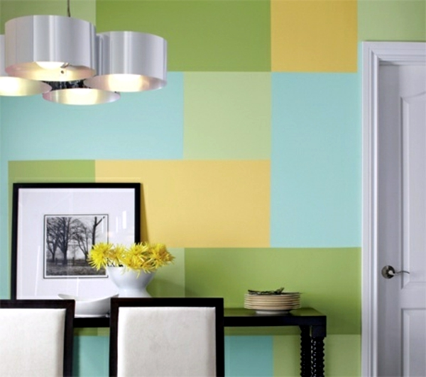 Pattern on the wall stress-shapes and colors combinations | Interior ...