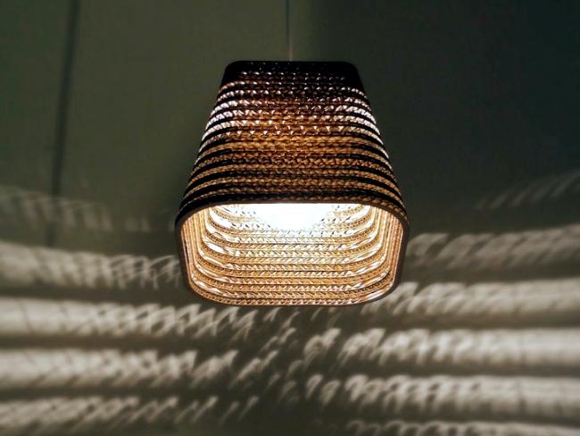 "Pendant luminaire design with environmentally friendly concept - ""Scraplights"""
