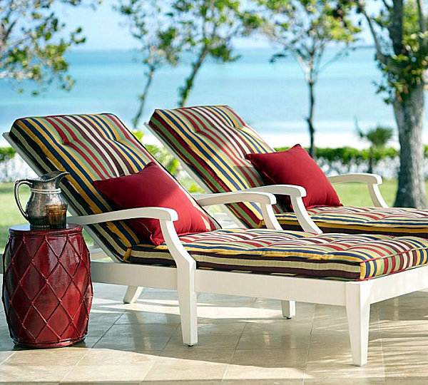 Pillows and cushions for outdoor furniture - maximize comfort
