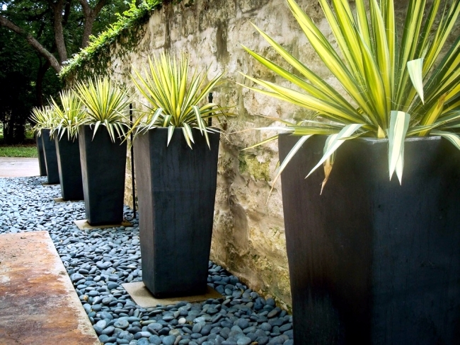 Planters for outdoors - garden design tricks for the impact of