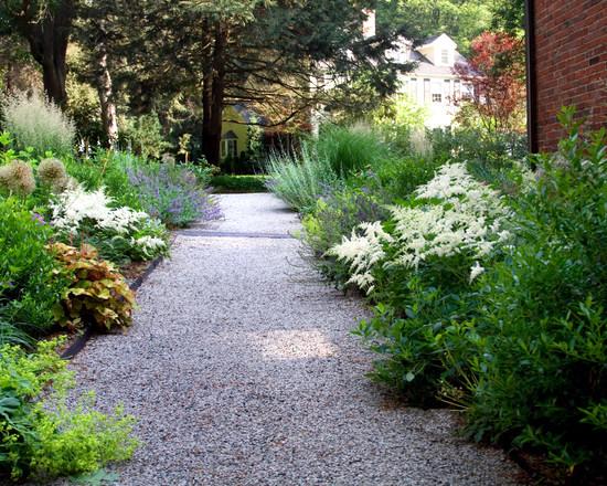 Landscape design for narrow street strips