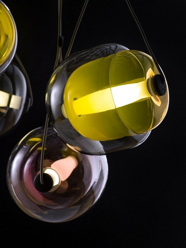 Playful Design pendant lamps by Lucie Koldova for Brokis
