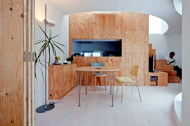 Plywood For Interior Design The Pleasantly Warm Wood Look At Home Kitchen Decorating
