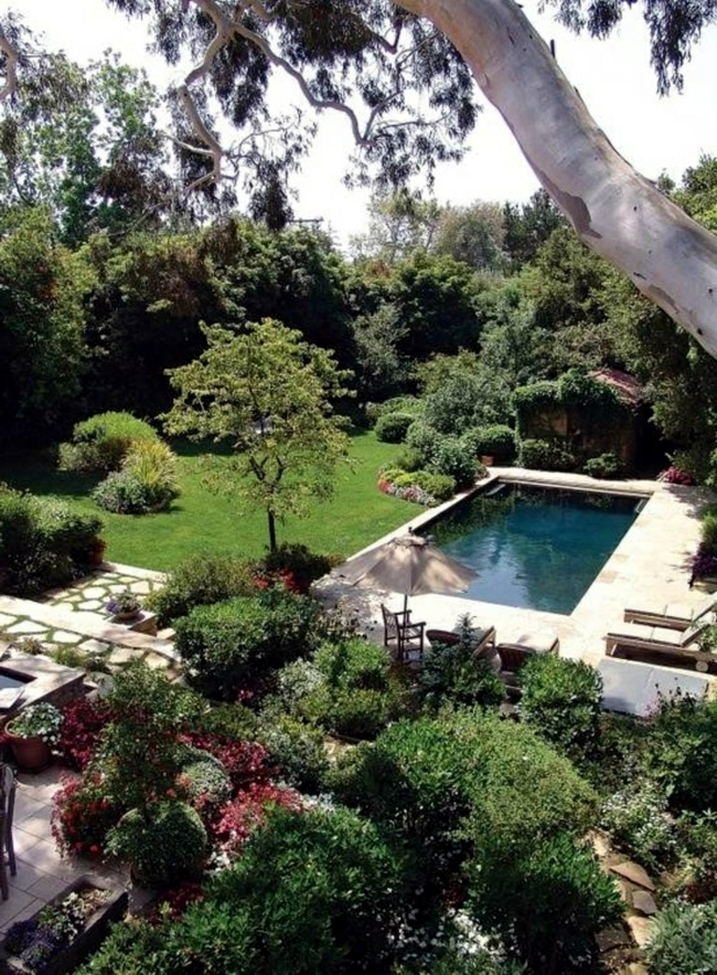 Pool in the garden or in the house build – 105 pictures of ...