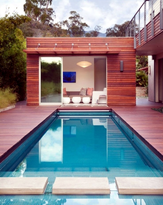 pool in the garden or in the house build 105 pictures of