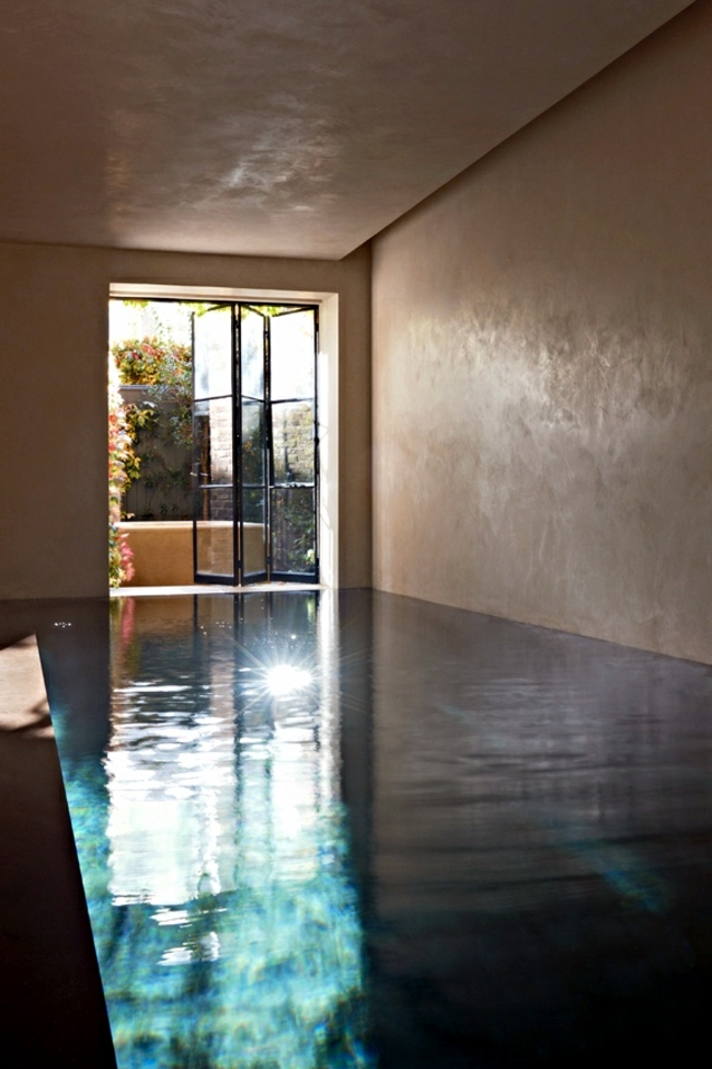 Indoor pool keller  Pool in the garden or in the house build – 105 pictures of ...