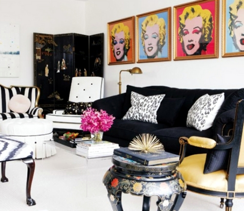 Great Pop Art Inside   History And Famous Artists. Modern Interior Design