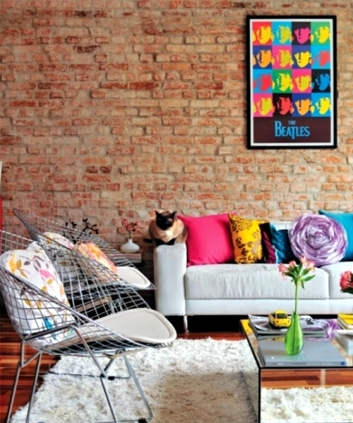 Pop Art in the interior - 20 ideas for attractive interior