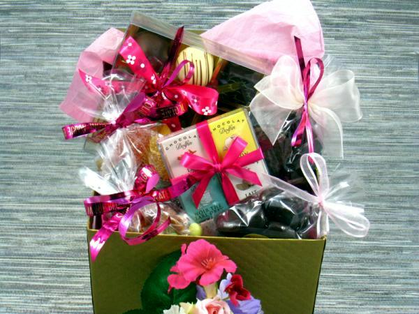 Prepare gift baskets for Mother's favorite things with myself