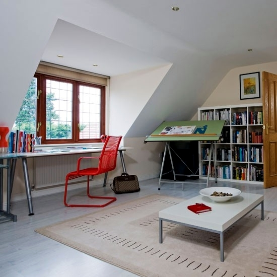 Promote creativity by the ambience - 100 living ideas for home office