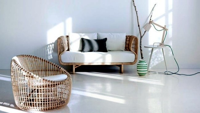 Rattan furniture of nest collection combine with exotic sophistication