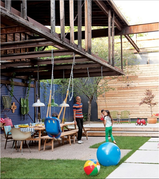 Rebuild the garden courtyard itself – 17 useful garden design ideas ...